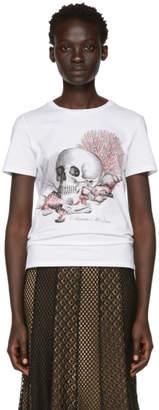 Alexander McQueen White Cabinet Of Shells T-Shirt