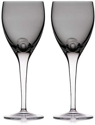 Waterford W Shale Set of Two Wine Glasses