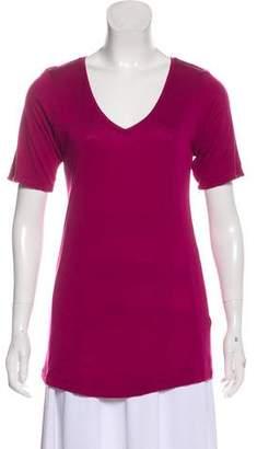 Burberry Lightweight V-Neck T-Shirt