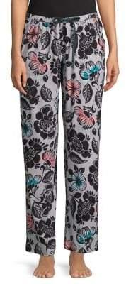 Hue Vivid Floral Pants