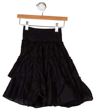 Junior Gaultier Girls' High-Low Skirt