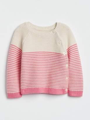 Gap Stripe Garter Sweater