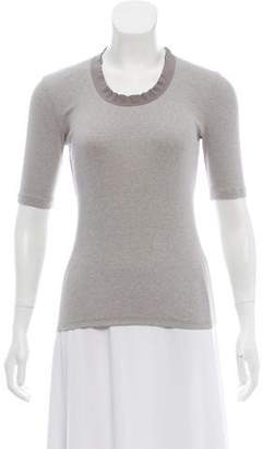 Fabiana Filippi Short Sleeve Knit Top