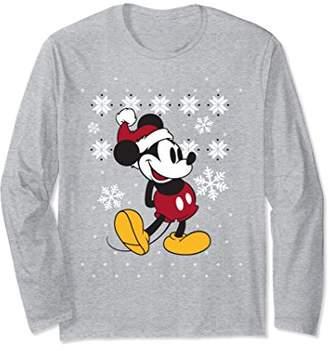 Disney Mickey Mouse Winter Spirit Long Sleeve T-shirt