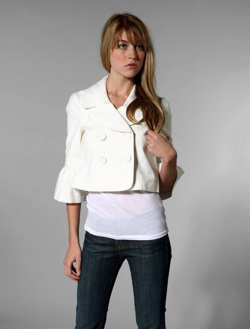 Juicy Couture 3/4 Bell Sleeve Swing Coat