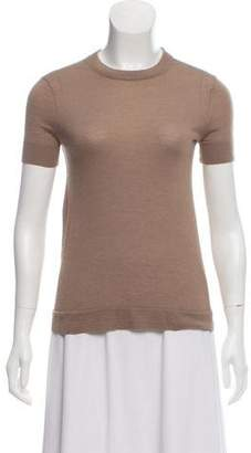 Calvin Klein Collection Froshall Cashmere-Silk Blend Top