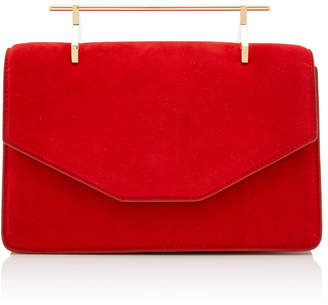 M2Malletier M'O Exclusive Indre Suede Shoulder Bag
