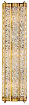 AERIN Eaton Linear Sconce - Antiqued Brass