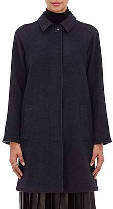 Giorgio Armani Women's Double-Faced Cashmere Melton Coat