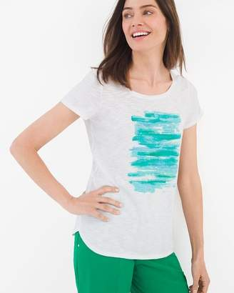 Zenergy Patch Sequin Tee