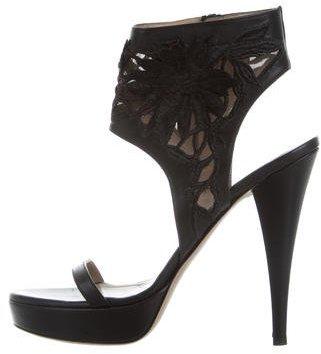 ValentinoValentino Leather Platform Sandals