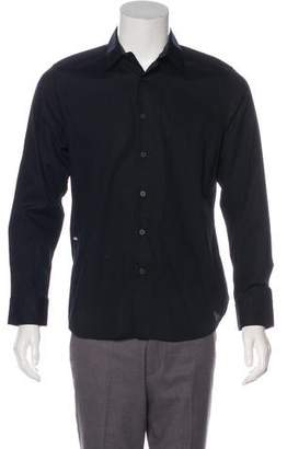 Givenchy Point Collar Button-Up Shirt