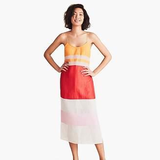 J.Crew FlagpoleTM Lexie dress in strawberry tangerine rose