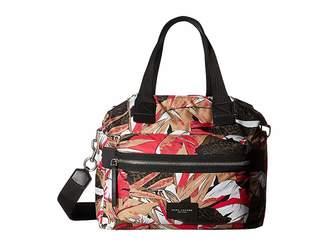 Marc Jacobs Palm Printed Biker Babybag Handbags