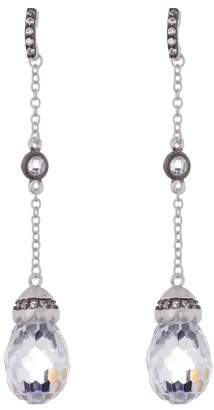 Freida Rothman Long Drop Earrings