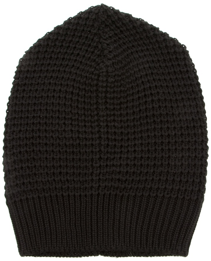 Paolo Pecora Knitted beanie hat