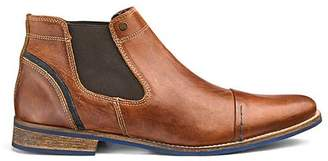 Dune Chili Chelsea Leather Boots