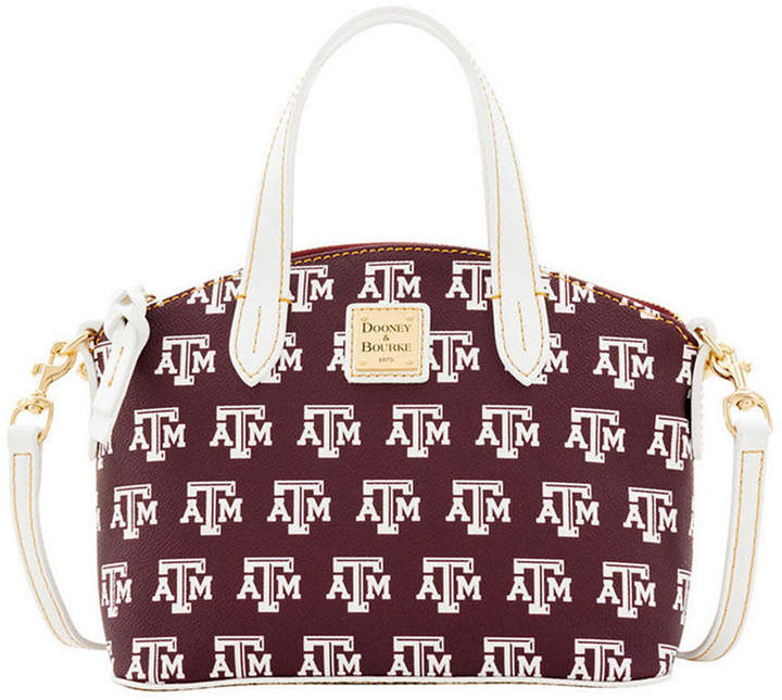 Dooney & Bourke Texas A & M Aggies Ruby Mini Satchel Crossbody - MAROON - STYLE