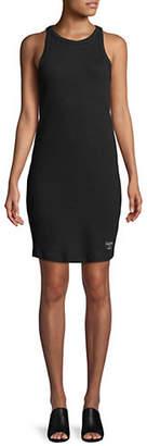 Calvin Klein Jeans Skater Ribbed Tank Dress