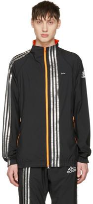 Adidas x Kolor Black Track Jacket $295 thestylecure.com