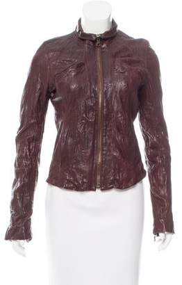 Ever Long Sleeve Leather Jacket
