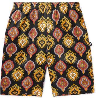 Stussy Printed Satin-Jersey Shorts