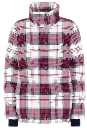 Burberry Check down jacket
