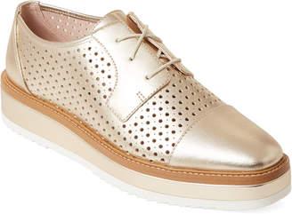 Nine West Gold Verwin Platform Derby Shoes