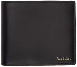 Paul Smith Black Bifold Bike Wallet