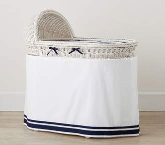 Pottery Barn Kids Harper Bassinet Bedding Set: Bumper & Skirt