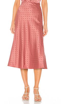 Lovers + Friends Madalena Midi Skirt