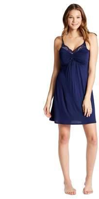 Jessica Simpson Motherhood Maternity Lace Trim Maternity Nightgown