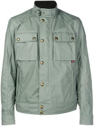 Belstaff button-up military jacket