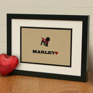 The Typecast Gallery 'Personalised Cockapoo Print' Dog Lover Gift