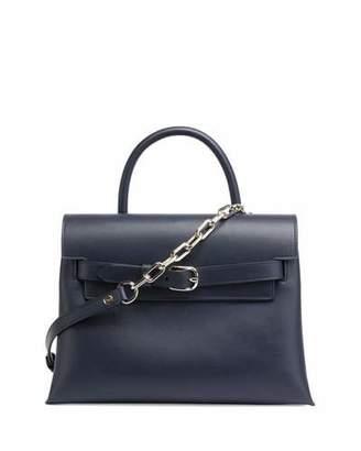 Alexander Wang Attica Chain Crossbody Bag, Navy $850 thestylecure.com