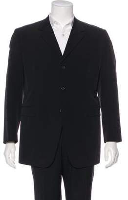 Prada Three-Button Nylon Blazer