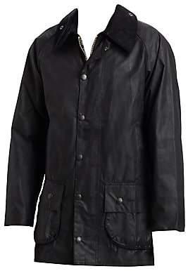 Barbour Men's Corduroy Collar Waxed Jacket