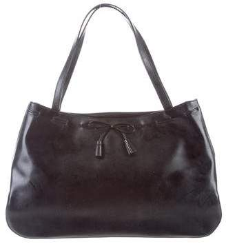 Anya Hindmarch Patent Leather Bow Tote