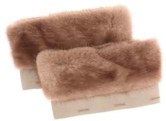 Max Mara S Henry mink fur cuffs