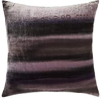 Aviva Stanoff Striped Velvet Pillow