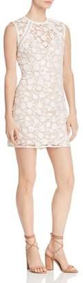 Aqua Embroidered Sheath Dress - 100% Exclusive