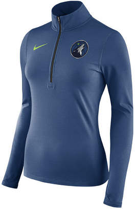 Nike Women's Minnesota Timberwolves Element Pullover
