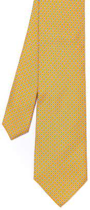 J.Mclaughlin Italian Silk Tie in Mini Dots