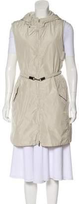 Max Mara Lightweight Hooded Vest