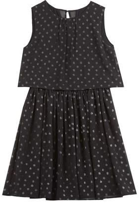 Mint Velvet Black Polka Dot Party Dress