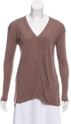 Vince Long Sleeve V-Neck T-Shirt