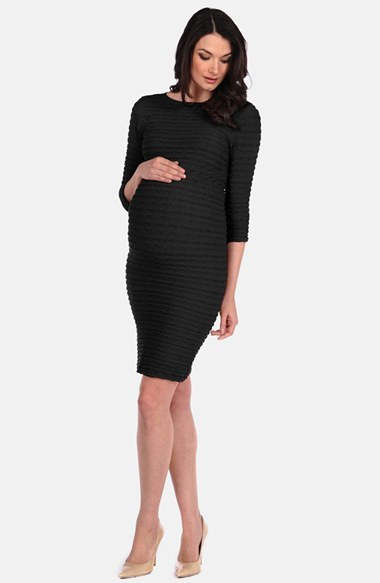 Women's Tees By Tina 'Crinkle' Maternity Dress