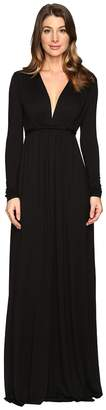 Rachel Pally Long Sleeve Full Length Caftan Women's Dress