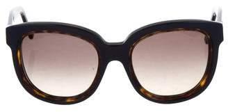 Balenciaga Tinted Round Sunglasses