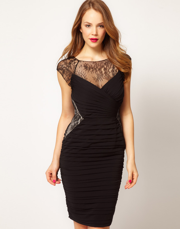 Coast Dray Lace Top Dress